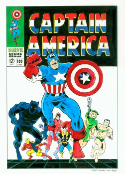 Captain America 100 recreation
