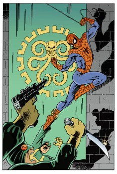 Spider-Man Hydra color