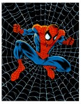 Spider-Man web color