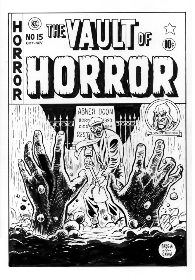Vault of Horror recreation