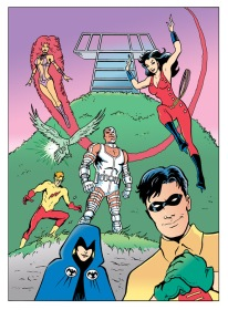 Teen Titans color