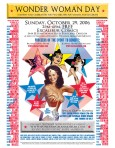 Wonder Woman Day flyer