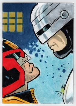 Judge Dredd Robocop