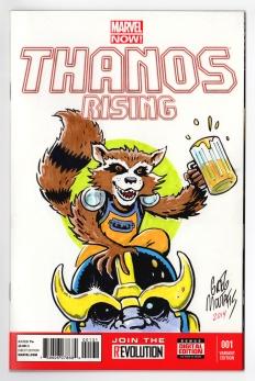 Thanos & Rocket