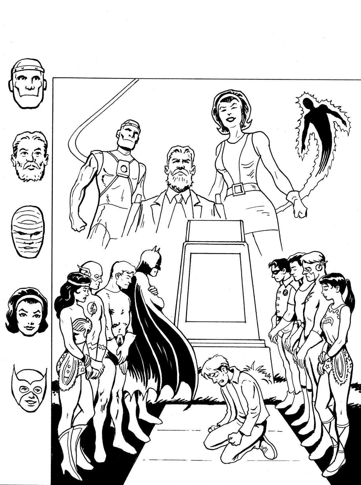 justice league doom coloring pages - photo#13
